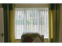 Decorshade Suede Mink Blackout Vertical Blind