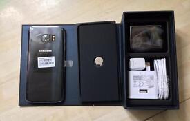 New Samsung S7 in Onyx Black. Unlocked