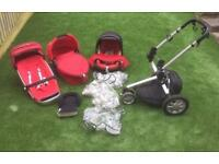 Quinny Buzz Travel System with lots of extras