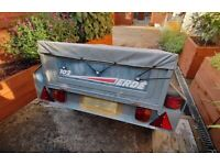 For Sale - Secondhand - ERDE 102 Trailer in good condition with cover and two spare rims/tyres