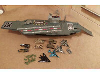 Light & Sound Toy Aircraft Carrier & Accessories