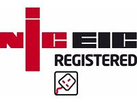 NICEIC Part P Registered Electrician.ECR,Certificates.Emergencies!All Greater London,Surrey,Kent