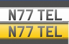N77 TEL number plate for sale make me an offer