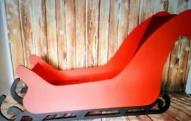 Large sleigh photographic prop