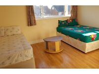 Large Double Rooms in Reading to Rent