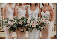 Stunning Elle Zeitoune bridesmaid dress