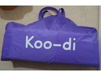 Koo-di Pop Up Bubble Travel Cot - BRAND NEW