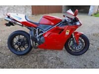 Ducati 748S - professional fitted with 999S Testastretta Engine - best of both worlds