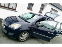 2006 FORD FIESTA 1.2 STYLE 5DR, 78000 MILES