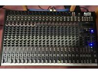 Alto Live2404 Professional Sound Mixer - 24 input, 18 XLR, 4 Bus, Reverb, Compressor