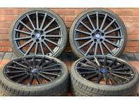"Ford Focus RS 19"" MK2 Genuine Alloy Wheels 5x108"
