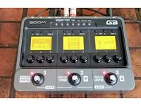 Zoom G3 multi-effects/amp modeller (latest version ), only 1month old, pristine (inc p+p)