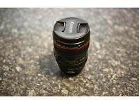 Canon EF 24-105mm F/4 L IS USM Lens (w/ Canon Pouch)