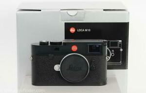 Leica M10 Black Digital Rangefinder Camera Body w/9 Months Leica warranty!