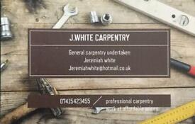 Carpentry services at affordable prices