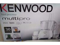Kenwood FP691 Multi-Pro Food Processor, 900 W, White