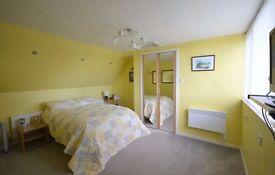 Double divan bed with memory foam