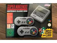 SNES MINI - SUPER NINTENDO MINI CLASSIC CONSOLE - BRAND NEW