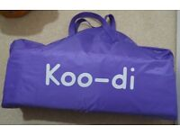 Koo-di Pop Up Bubble Travel Cot - BRAND NEW