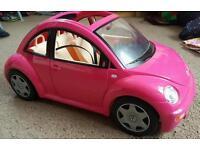 Barbie Beetle car VW