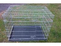 Pets at home dog crate (large)