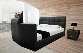 BRAND NEW Leather TV Bed SALE