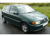 Polo for sale, 1.0 Oct2002 great learner or small family car