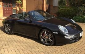 Porsche 911 Manual C2S Convertible - low mileage