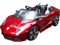 Lamborghini Style 12v Kids Electric Car with Remote Control - Red
