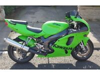 Kawasaki Ninja 750 ZX7R 03 P7 model. Low mileage.
