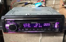 Kenwood KDC-210UI Car Stereo CD Receiver with AUX & USB. MP3 & WMA.