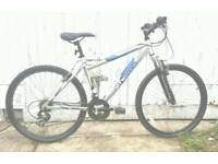 Lightweight aluminium frame bike