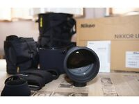 Nikon AF-S 300mm f2.8 G II EG lense in mint condition