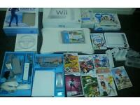 Nintendo wii complete console with extras