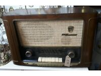 Vintage Circa 1956 Grundig 2035 W 3D Radio