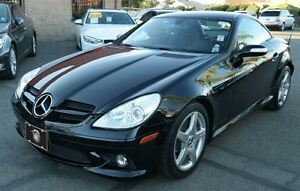 2005 Mercedes-Benz SLK-Class 6 SPD -- AMG PKG -- BLACK ON RED LE