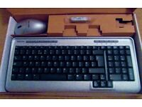 Computer Keyboard with Mouse and Stick New