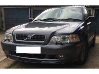 VOLVO S40 1.8 SE AUTO SALOON IN GUN METAL GREY. 2003 ON A 53 PLATE.