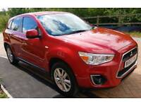 Mitsubishi Asx 3 1.6 petrol 27k m HPI clear keyless entry start stop button heated front seats FSH
