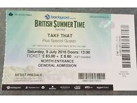 British Summertime- Hyde Park - 9th July