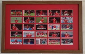 Framed Wales Football Team Images