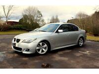 BMW 5 Series, 525 M Sport, LCi. 2008. MOT Sept. Truly Mint Bodywork £3999 ONO..