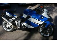 2006 BMW K1200S for sale Blue/White with panniers