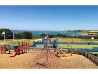 Cheap brand new static caravan lodge isle of wight, 2017 site fees incldued, 12 month seafront park
