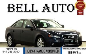 2012 Audi A4 2.0T PREMIUM 99KMS! SUNROOF LEATHER