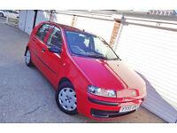 ## BARGAIN 2002 51 Fiat Punto 1.2 ELX 5 Door Manual ##