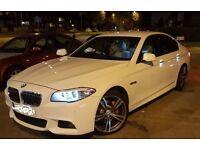 BMW 5 Series-White