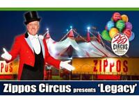Zippos Circus tickets x 4 at Falkirk Stadium