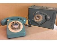 **BNIB** WILD & WOLF 746 Phone, 1960's Design Classic, French Blue