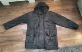 New Medium/Large 100% Real Leather Jacket. Only £39! ONO